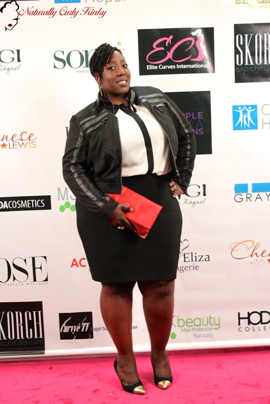Haute Curves LAFW, Plus Size, Fashion, Plus Size Fashion, Blogger, Style, Runway, Runway show, Curvy, Curves and Confidence, Beauty, Women of Color, Natural Hair, OOTD, Plus Size OOTD, Outfit Of the Day, Outfit of the Night, Lane Bryant, Blanc Noir