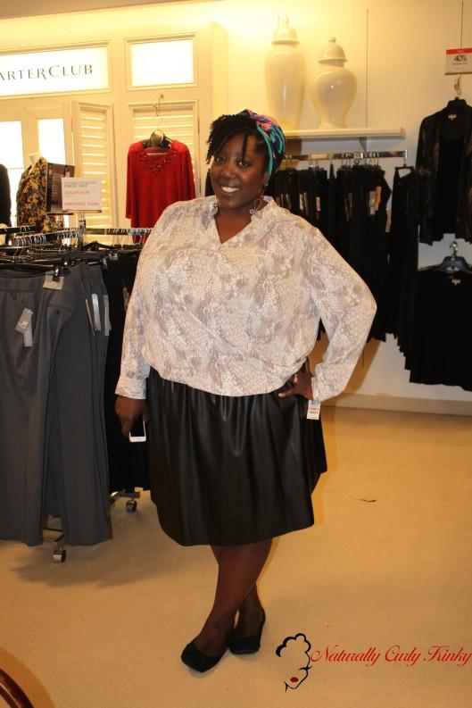 Plus Size, Plus Size Fashion, Plus Size Fashion Events, Curvy Events, Macy's, Reah Norman, Curvy Girls, Shopping, Shopping event, Stylist, Blogger, PLUS Model Magazine,