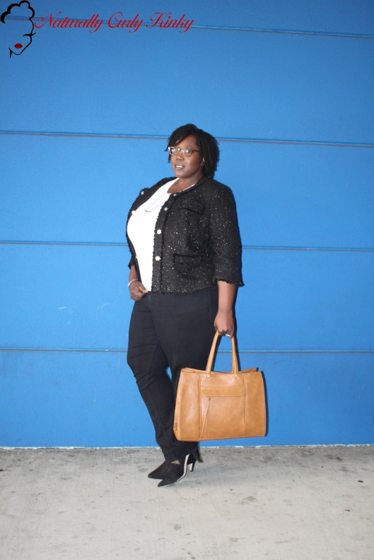 Michael Kors, Forever21, Old Navy, Ron Hommerson, Plus Size, Plus Size Fashion, Fashion, Style, OOTD, Outfit of the day, HOTD, Hair of the day, Natural Hair, Kinky Hair, Curly Hair, 4c, Plus, Blogger, Lucky